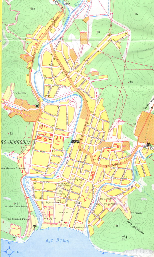 Карта Архипо-Осиповки. Нажмите